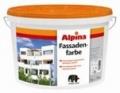 Краска акриловая в/д белая Alpina Fassadenfarbe (15.5 кг)
