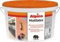 Краска акриловая в/д белая Alpina Mattlatex