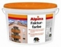 Alpina Fakturfarbe Base 1 Атмосферостойкая фасадная краска