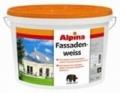 Краска Caparol Alpina Fassadenweiss 1 фасадная атмосферостойкая