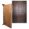 Дверь входная металлическая МТ-10 Полуторная