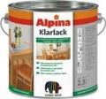 Лак Alpina Klarlack полуматовый (2.5л)